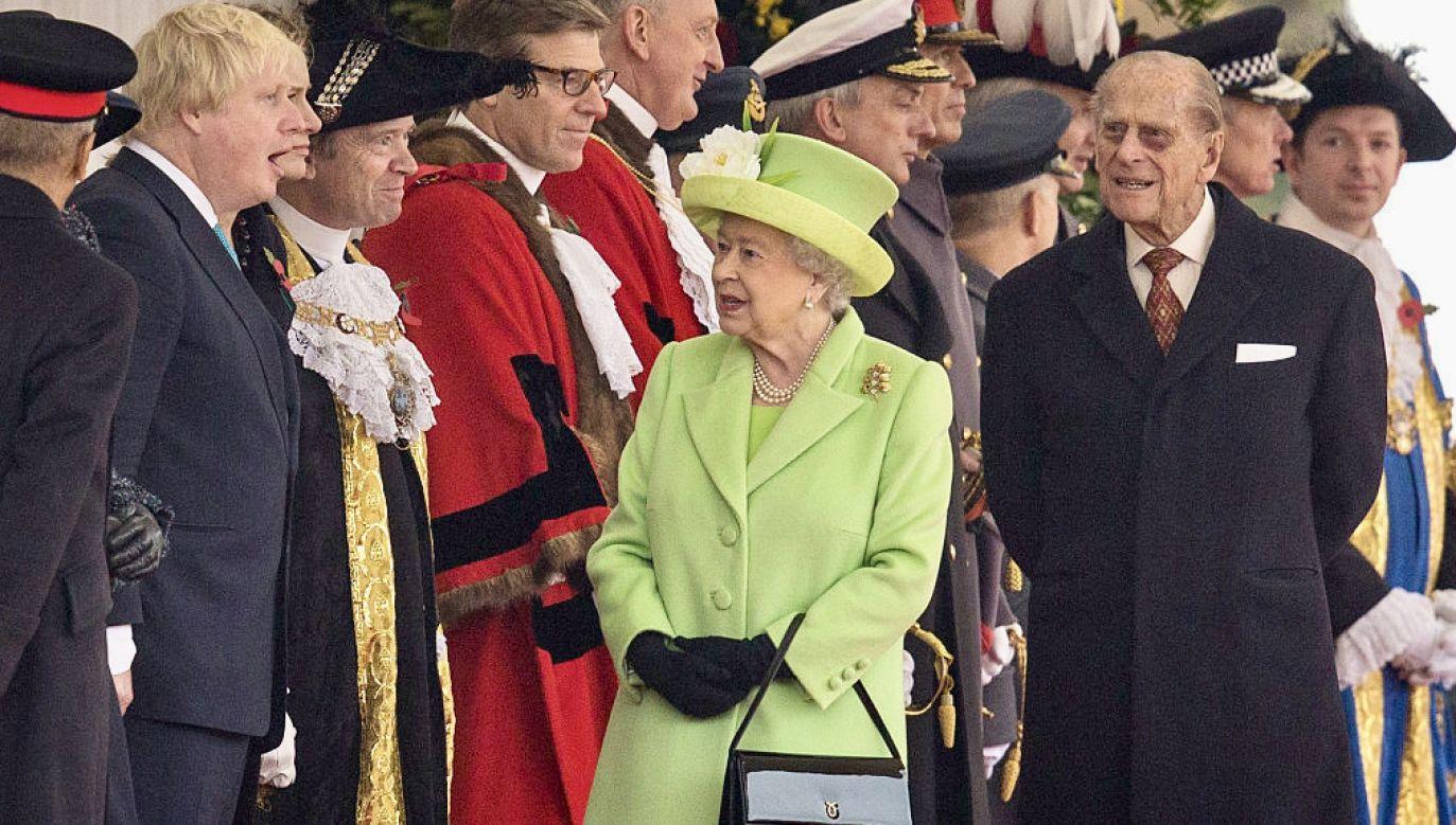 Książę Filip zmarł w piątek 9 kwietnia (fot. J.Taylor/Getty Images)