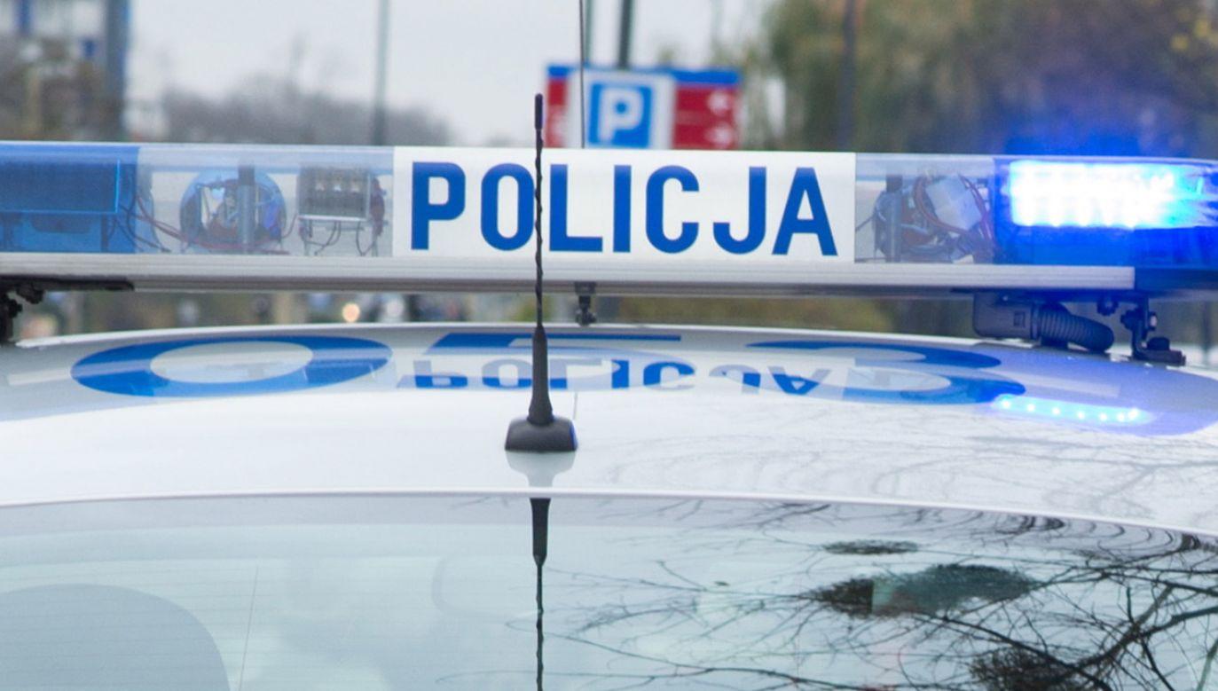 Kierowca auta jechał prawidłowo; były trzeźwy (fot. Policja.pl)