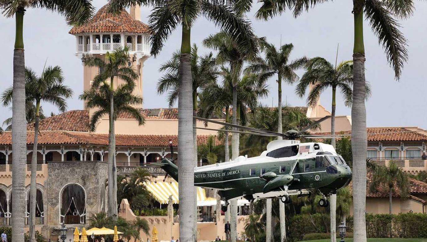 Mar-a-Lago jest prywatną posiadłością Donalda Trumpa (fot. White House)