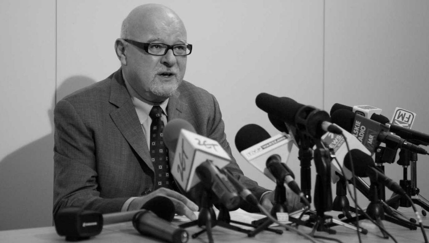 Michał Borowski miał 70 lat (fot. PAP/Paweł Supernak)