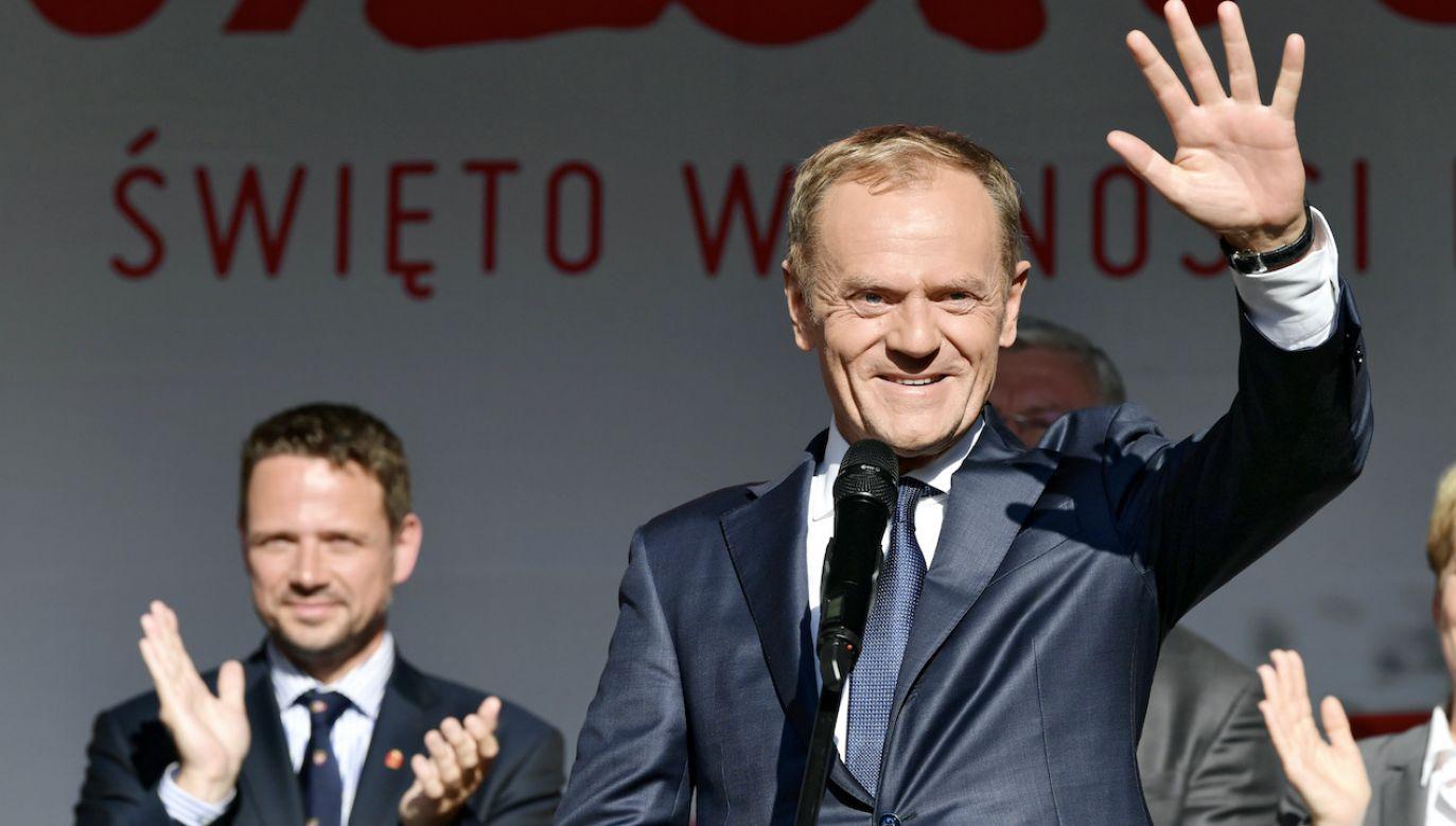 Rafał Trzaskowski walczył o fotel szefa PO (fot. arch.PAP/Adam Warżawa)