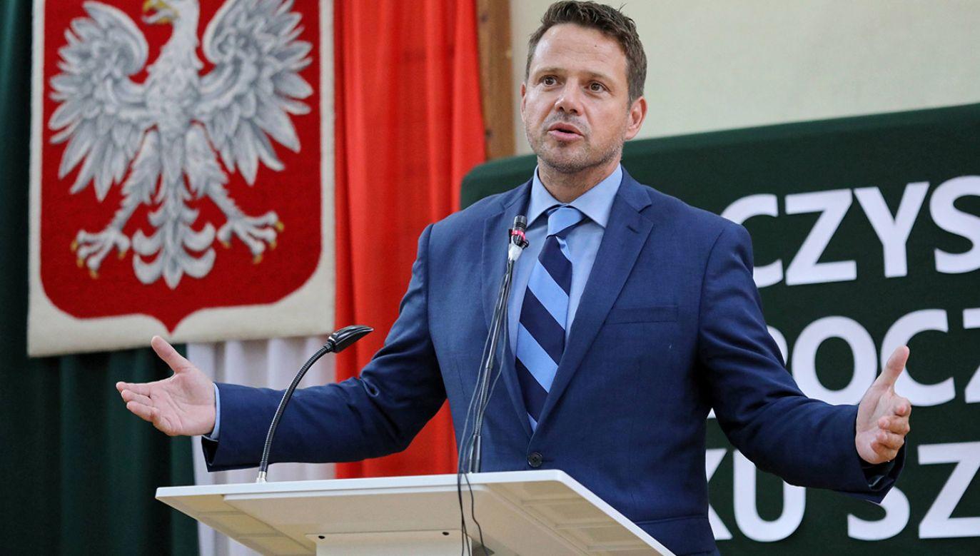 Gazeta podsumowała też sukcesy i porażki Trzaskowskiego (fot. arch.PAP/Tomasz Gzell)