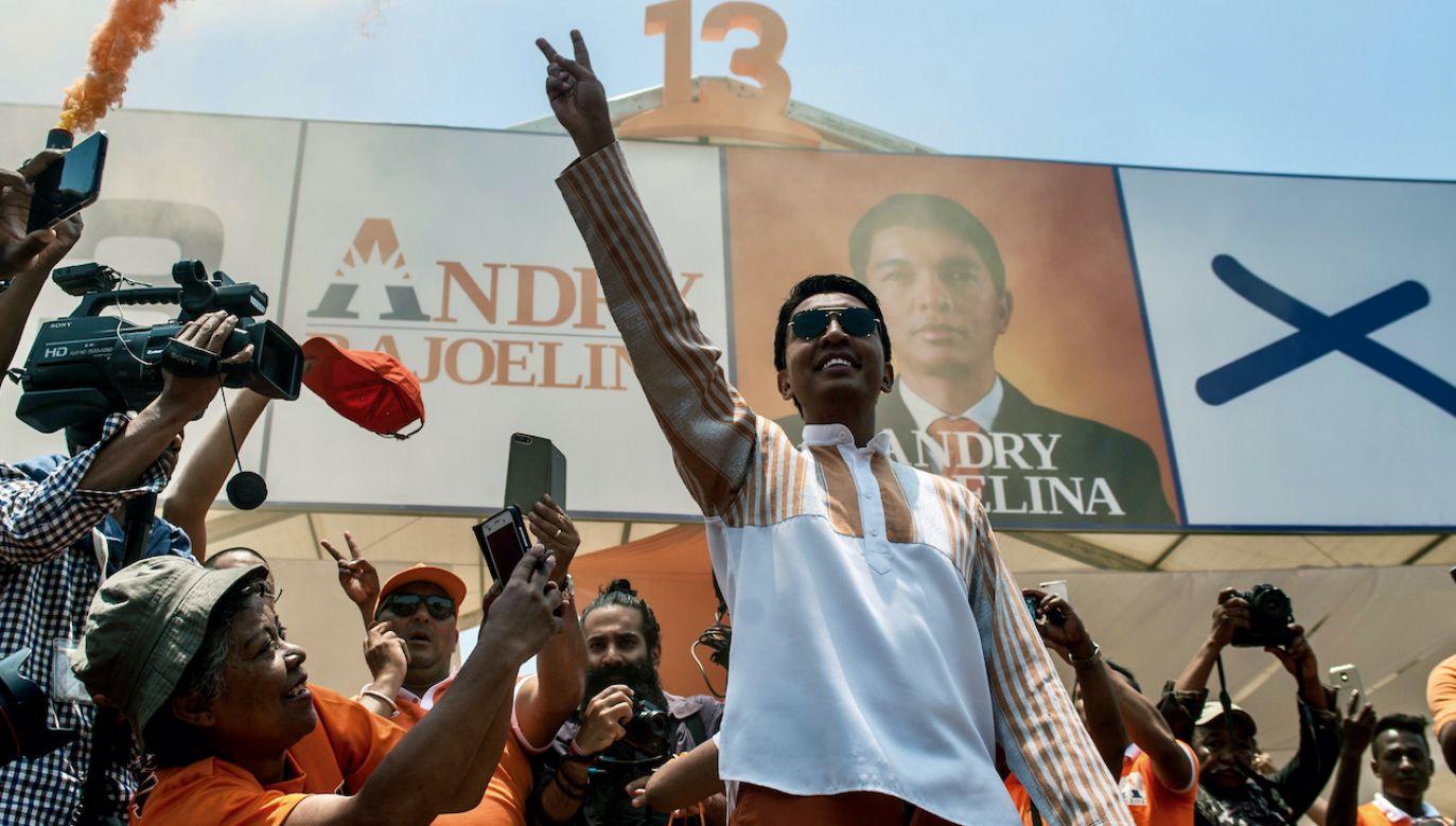 Andry Rajoelina (fot. H.Rafalia/AfrikImages Agency /UIG/Getty Images)