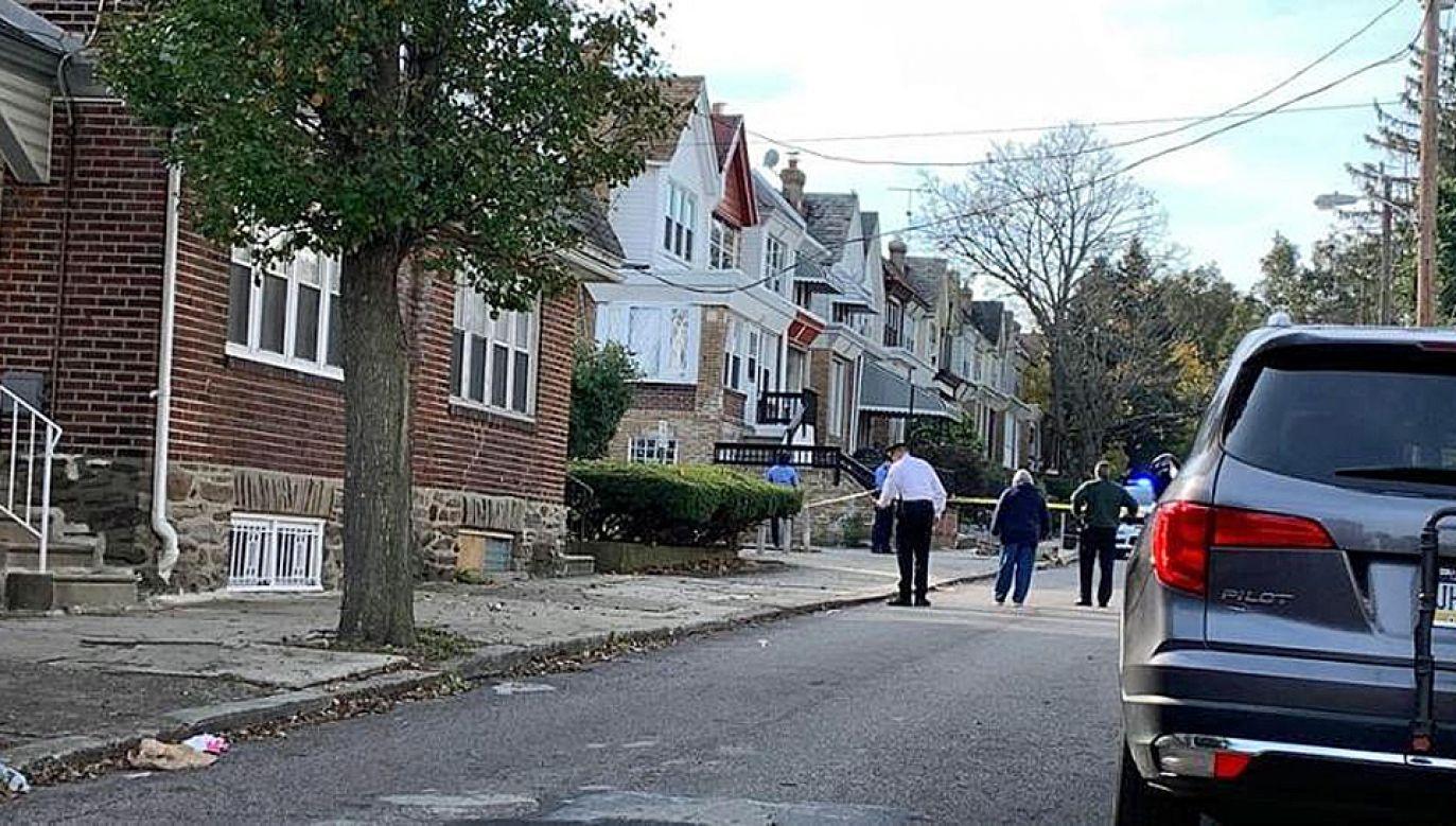 Sprawca został aresztowany (fot. TT/Philadelphia News)