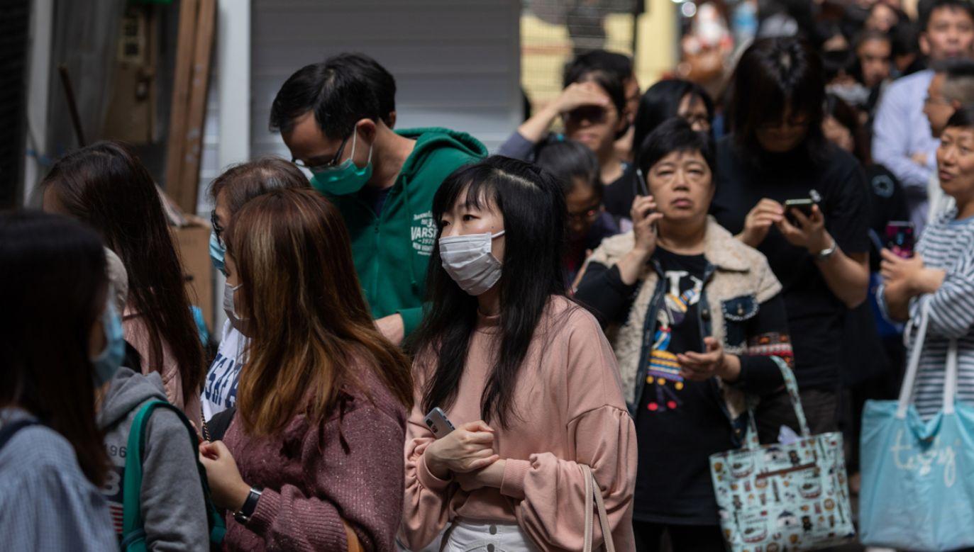 W Hongkongu odwołano doroczną imprezę (fot. PAP/EPA/JEROME FAVRE)