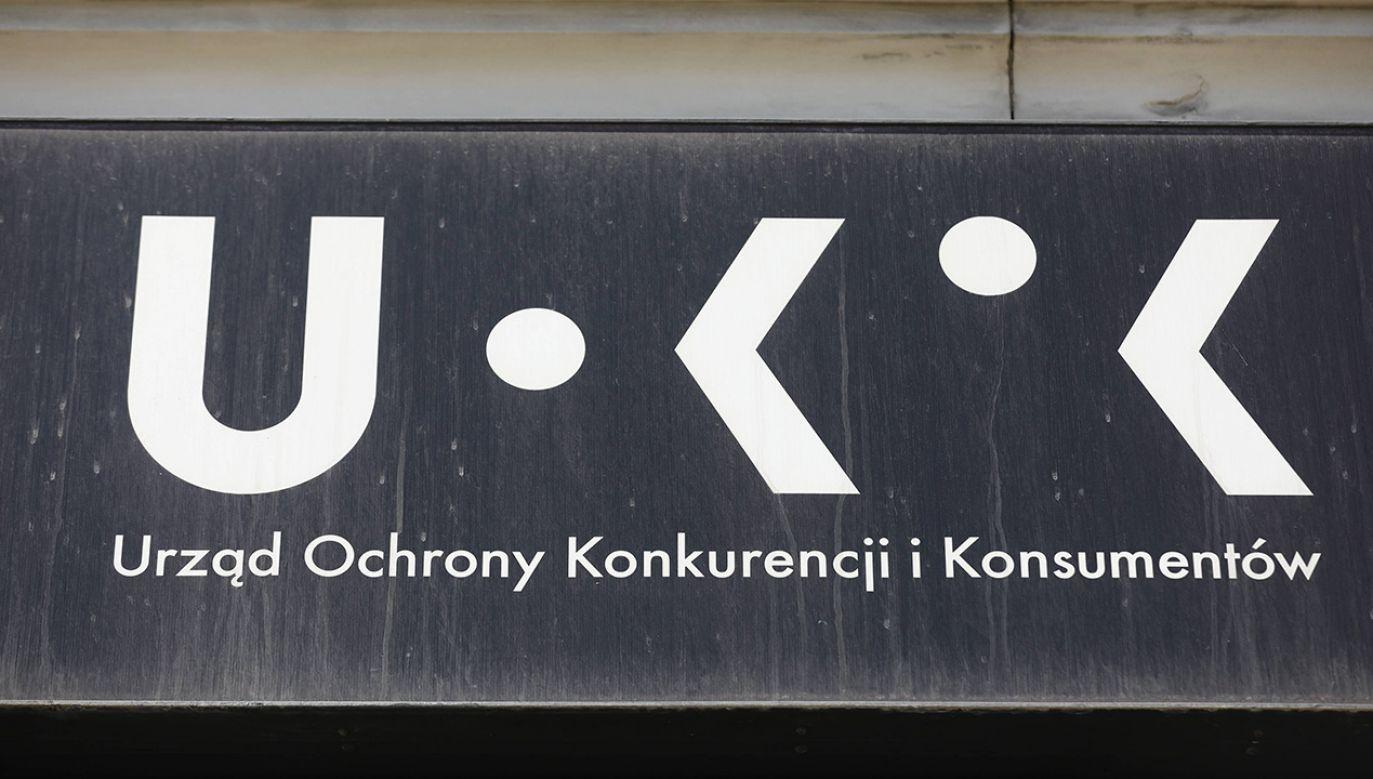 Decyzja prezesa urzędu ma rygor natychmiastowej wykonalności (fot. arch. PAP/Rafał Guz)